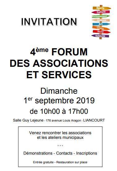 Forum des associations et services 2019